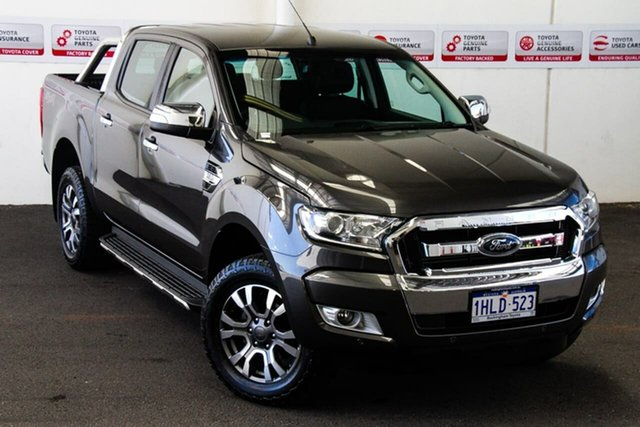 Pre-Owned Ford Ranger PX MkII MY18 XLT 3.2 (4x4) Rockingham, 2018 Ford Ranger PX MkII MY18 XLT 3.2 (4x4) Grey 6 Speed Automatic Double Cab Pick Up