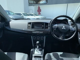 2016 Mitsubishi Lancer CF MY17 LS Silver 6 Speed Constant Variable Sedan