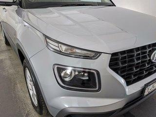 2019 Hyundai Venue QX MY20 Active Silver 6 Speed Automatic Wagon.