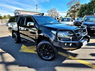 2016 Holden Colorado RG MY17 LTZ Pickup Space Cab Black 6 Speed Sports Automatic Utility.