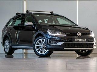 2017 Volkswagen Golf 7.5 MY18 Alltrack DSG 4MOTION 132TSI Black 6 Speed Sports Automatic Dual Clutch.
