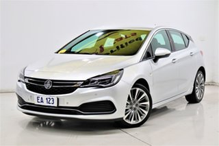 2017 Holden Astra BK MY18 RS-V Silver 6 Speed Sports Automatic Hatchback.