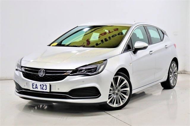Used Holden Astra BK MY18 RS-V Brooklyn, 2017 Holden Astra BK MY18 RS-V Silver 6 Speed Sports Automatic Hatchback
