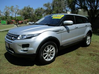 2013 Land Rover Range Rover Evoque L538 MY13 Pure Silver 6 Speed Manual Wagon.