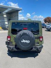2016 Jeep Wrangler JK MY2016 75th Anniversary Green 5 Speed Automatic Hardtop