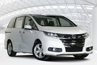 2019 Honda Odyssey RC MY19 VTi White Orchid 7 Speed Constant Variable Wagon.