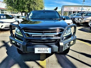 2016 Holden Colorado RG MY17 LTZ Pickup Space Cab Black 6 Speed Sports Automatic Utility