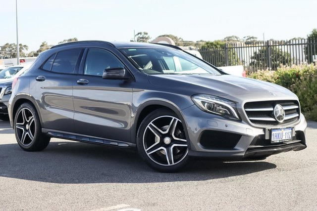 Used Mercedes-Benz GLA-Class X156 805+055MY GLA250 DCT 4MATIC Wangara, 2015 Mercedes-Benz GLA-Class X156 805+055MY GLA250 DCT 4MATIC Grey 7 Speed