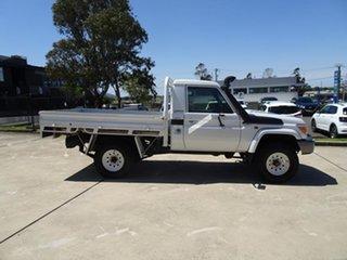 2012 Toyota Landcruiser VDJ79R MY10 GX White 5 Speed Manual Cab Chassis