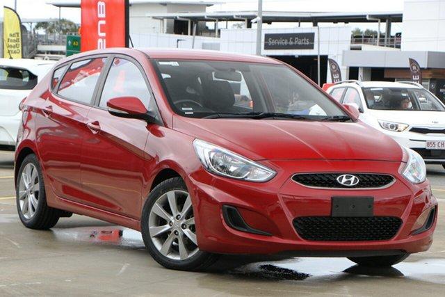 Used Hyundai Accent RB5 MY17 Sport Aspley, 2017 Hyundai Accent RB5 MY17 Sport Red 6 Speed Sports Automatic Hatchback