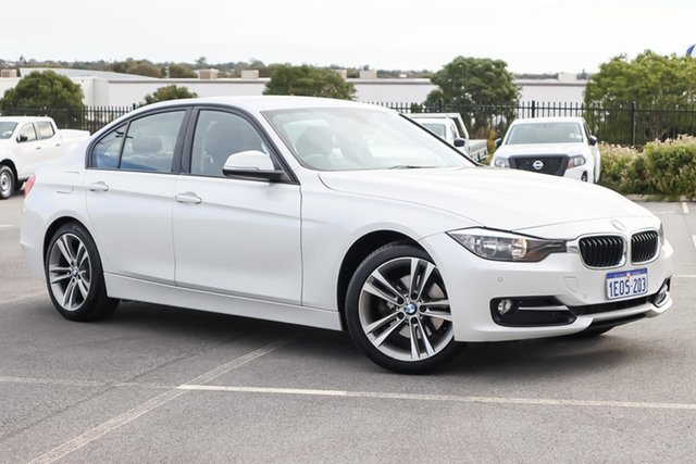 Used BMW 3 Series F30 MY1114 320d Sport Line Wangara, 2014 BMW 3 Series F30 MY1114 320d Sport Line White 8 Speed Sports Automatic Sedan