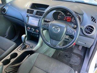 2017 Mazda BT-50 MY16 XTR (4x4) White 6 Speed Automatic Dual Cab Utility.