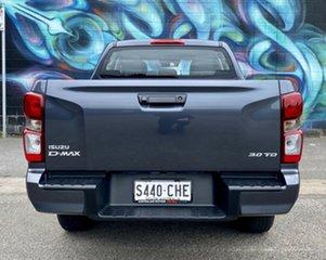 2020 Isuzu D-MAX RG MY21 SX Space Cab 4x2 High Ride Obsidian Grey 6 Speed Sports Automatic Utility.