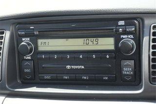 2005 Toyota Corolla ZZE122R 5Y Ascent Black 4 Speed Automatic Sedan
