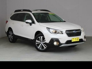 2019 Subaru Outback MY18 2.5i AWD Crystal White Pearl Continuous Variable Wagon