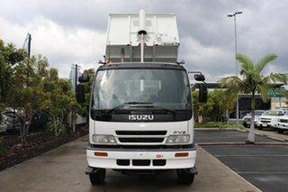 2001 Isuzu FVZ1400 5 White Manual Tipper.
