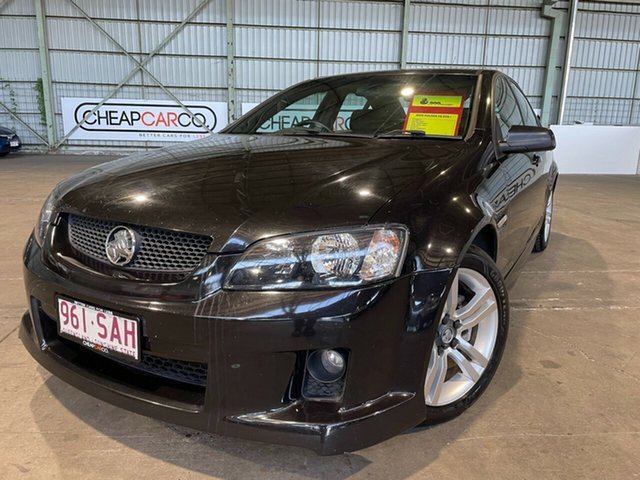 Used Holden Commodore VE MY10 SV6 Rocklea, 2009 Holden Commodore VE MY10 SV6 Black 6 Speed Sports Automatic Sedan