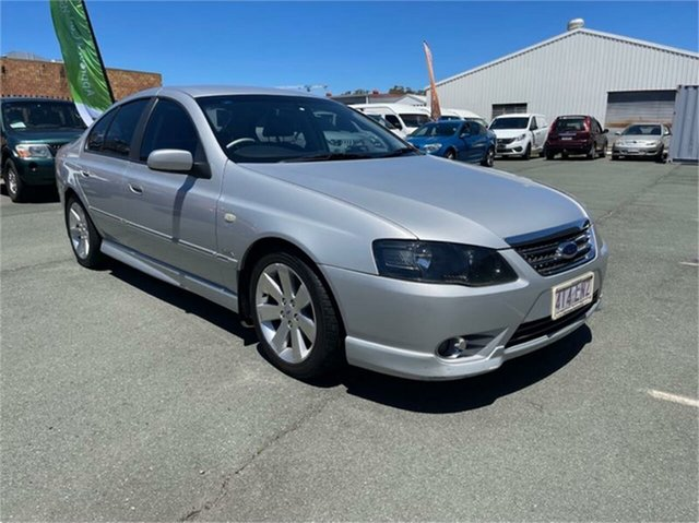 Used Ford Fairmont BF MkII Ghia Southport, 2007 Ford Fairmont BF MkII Ghia Silver 6 Speed Auto Seq Sportshift Sedan