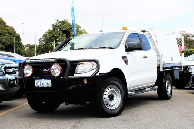 Used Ford Ranger PX MkII XL Midland, 2015 Ford Ranger PX MkII XL White 6 Speed Manual Cab Chassis