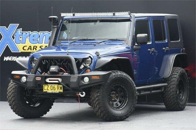 Used Jeep Wrangler JK MY2010 Sport Campbelltown, 2010 Jeep Wrangler JK MY2010 Sport Blue 6 Speed Manual Softtop