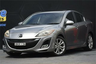 2009 Mazda 3 BL10L1 SP25 Activematic Silver 5 Speed Sports Automatic Sedan.