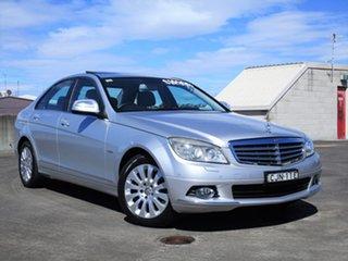 2007 Mercedes-Benz C-Class W203 MY2007 C200 Kompressor Elegance Silver 6 Speed Manual Sedan.