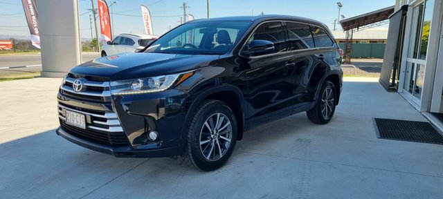 Used Toyota Kluger Beaudesert, 2017 Toyota Kluger Black 6 Speed Automatic Wagon