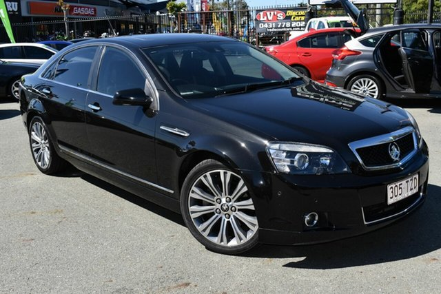 Used Holden Caprice WN V Underwood, 2013 Holden Caprice WN V Black 6 Speed Auto Active Sequential Sedan