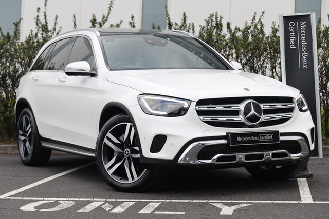 Certified Pre-Owned Mercedes-Benz GLC-Class X253 800MY GLC300 9G-Tronic 4MATIC Mulgrave, 2019 Mercedes-Benz GLC-Class X253 800MY GLC300 9G-Tronic 4MATIC Polar White 9 Speed Sports Automatic