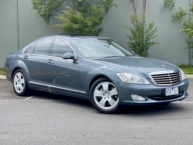 Used Mercedes-Benz S-Class W221 MY07 S350 Thomastown, 2006 Mercedes-Benz S-Class W221 MY07 S350 Grey 7 Speed Automatic Sedan