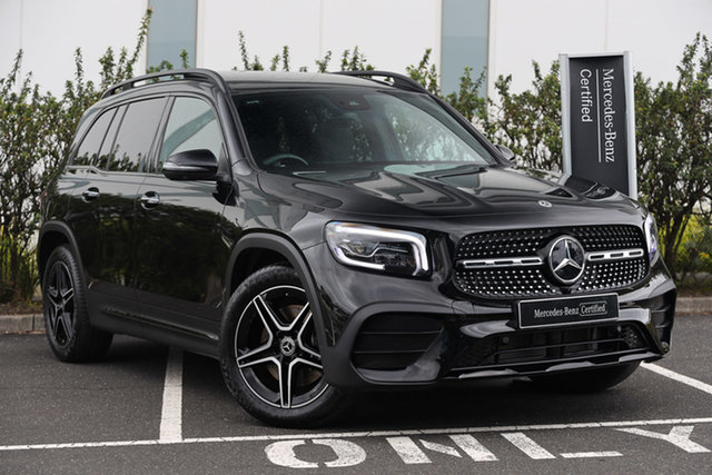 Certified Pre-Owned Mercedes-Benz GLB-Class X247 801+051MY GLB250 DCT 4MATIC Mulgrave, 2021 Mercedes-Benz GLB-Class X247 801+051MY GLB250 DCT 4MATIC Cosmos Black 8 Speed