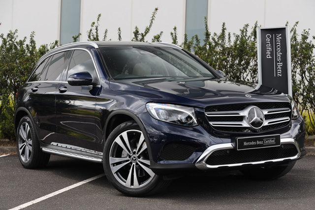Certified Pre-Owned Mercedes-Benz GLC-Class X253 808MY GLC250 9G-Tronic 4MATIC Mulgrave, 2018 Mercedes-Benz GLC-Class X253 808MY GLC250 9G-Tronic 4MATIC Cavansite Blue 9 Speed