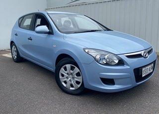 2011 Hyundai i30 FD MY11 SX Blue 4 Speed Automatic Hatchback.