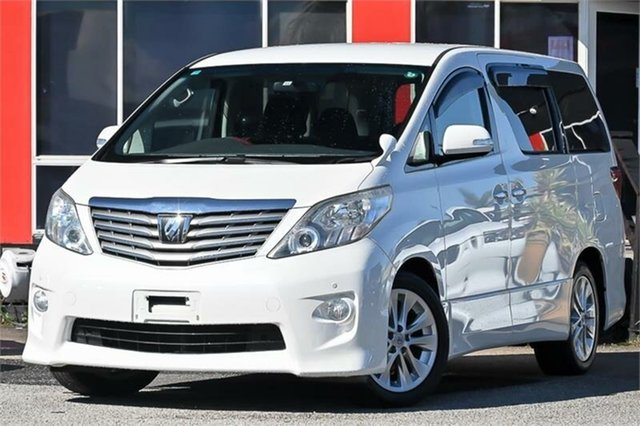 Used Toyota Alphard Cheltenham, 2009 Toyota Alphard ANH20W 240G People Mover Pearl White Constant Variable Van Wagon