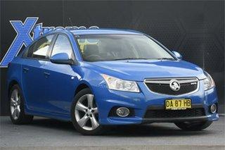 2012 Holden Cruze JH Series II MY13 SRi-V Blue 6 Speed Sports Automatic Sedan.