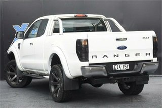 2012 Ford Ranger PX XLT Double Cab 4x2 Hi-Rider White 6 Speed Sports Automatic Utility
