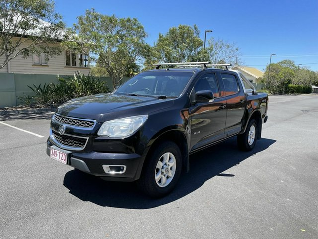 Used Holden Colorado RG MY14 LT Chermside, 2013 Holden Colorado RG MY14 LT Black 6 Speed Automatic Dual Cab