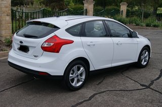 2014 Ford Focus LW MK2 Upgrade Trend White 6 Speed Automatic Hatchback