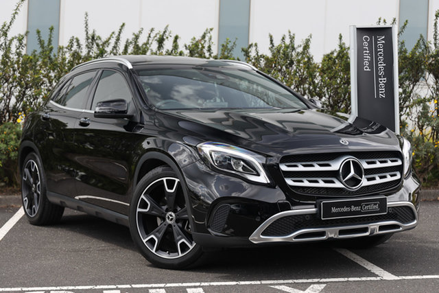 Certified Pre-Owned Mercedes-Benz GLA-Class X156 808MY GLA250 DCT 4MATIC Mulgrave, 2017 Mercedes-Benz GLA-Class X156 808MY GLA250 DCT 4MATIC Cosmos Black 7 Speed