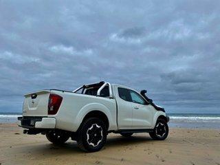 2021 Nissan Navara D23 MY21 ST-X King Cab White Diamond 7 Speed Sports Automatic Utility.