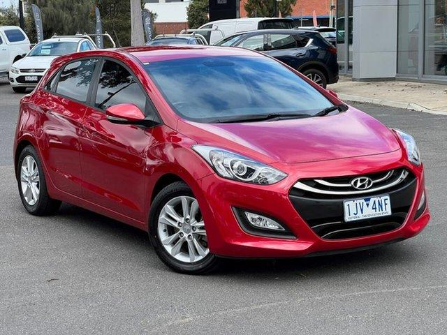 Used Hyundai i30 GD2 MY14 Trophy South Melbourne, 2014 Hyundai i30 GD2 MY14 Trophy Brilliant Red 6 Speed Sports Automatic Hatchback