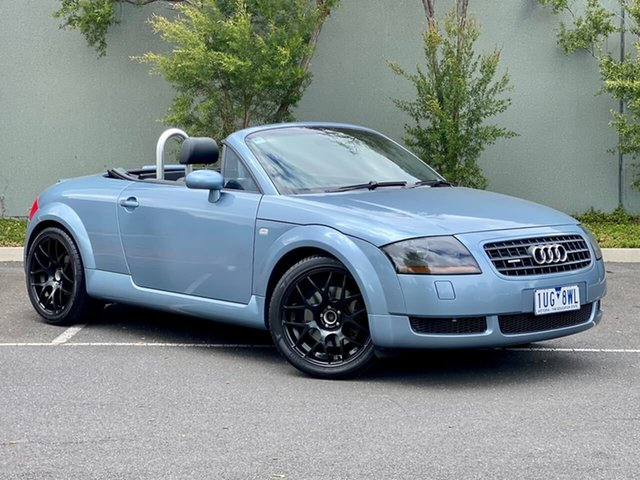 Used Audi TT MY2005 Quattro Thomastown, 2005 Audi TT MY2005 Quattro Blue 6 Speed Manual Roadster