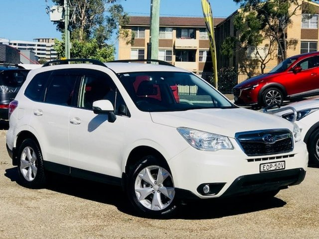 Used Subaru Forester S4 MY13 2.5i-L Lineartronic AWD Liverpool, 2012 Subaru Forester S4 MY13 2.5i-L Lineartronic AWD White 6 Speed Constant Variable Wagon