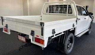 2019 Toyota Hilux GUN126R SR Double Cab White 6 Speed Manual Utility.