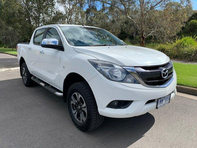 Used Mazda BT-50 XTR Hi-Rider Geelong, 2018 Mazda BT-50 UR XTR Hi-Rider White Sports Automatic Utility