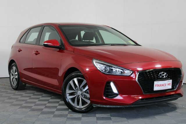 Used Hyundai i30 PD2 MY18 Active Wayville, 2018 Hyundai i30 PD2 MY18 Active Red 6 Speed Sports Automatic Hatchback