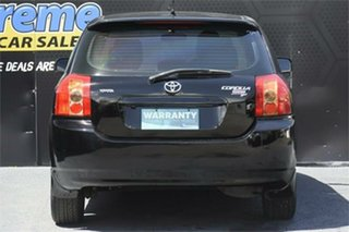 2006 Toyota Corolla ZZE122R 5Y Ascent Sport Black 4 Speed Automatic Hatchback