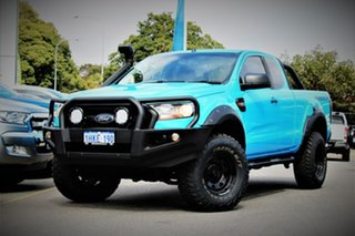 2015 Ford Ranger PX MkII XL Blue 6 Speed Manual Cab Chassis.