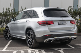 2020 Mercedes-Benz GLC-Class X253 800+050MY GLC300 9G-Tronic 4MATIC e Iridium Silver 9 Speed.