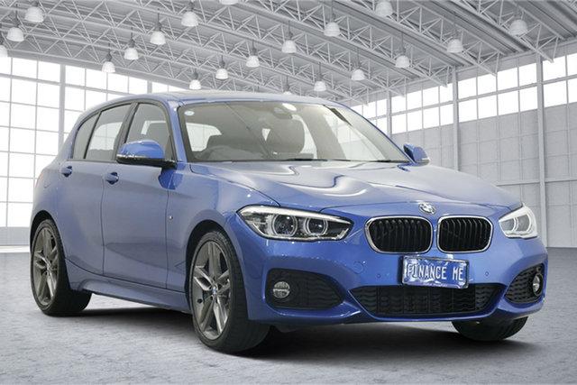 Used BMW 1 Series F20 LCI-2 125i M Sport Victoria Park, 2018 BMW 1 Series F20 LCI-2 125i M Sport Blue 8 Speed Sports Automatic Hatchback